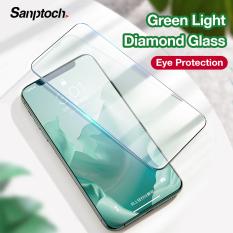 Kính cường lực bảo vệ màn hình kim cương Sanptoch phim bảo vệ mắt toàn diện cho iPhone 11 Pro Max XR x XS max 6 6S 7 8 Plus SE 2020 – INTL
