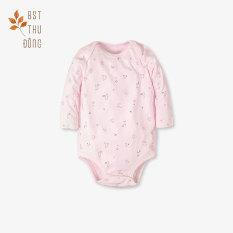 Bodysuit tay dài mèo mây dày hồng – Miomio – dành cho bé từ 0-24 tháng, chất lượng đảm bảo an toàn đến sức khỏe người sử dụng, cam kết hàng đúng mô tả