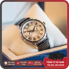 Đồng Hồ Nam Romanson TL3204FMWWH Full Box, Sổ BH Chống Xước, Chống Nước, Dây Da Cao Cấp