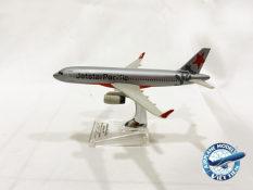 Mô hình máy bay Jetstar Airbus A320 Sharklets – Tỷ lệ 1/245 – dài 153,35mm