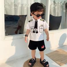 Bộ đồ cảnh sát cho bé trai siêu hót từ 8-18kg