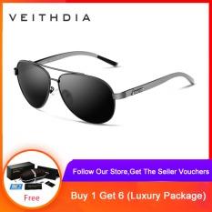 Veithdia aluminum magnesium mens sunglasses polarized sunglasses for glasses men accessories for glasses 2605