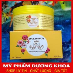 Kem Body Collagen X3 Cao Cấp Cực Trắng, Bán Cực Chạy