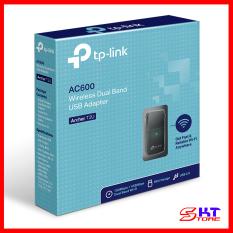 USB Thu Sóng Wifi Tp-Link Archer T2U Băng Tần Kép Chuẩn AC Tốc Độ 600Mbps – Hàng Chính Hãng