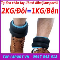 Tạ chì đeo chân tay 4kg/3kg/2kg/1kg/đôi phiên bản 3.0 Elipsport® – Chất liệu bi thép không gỉ, vải thun lạnh co giãn 4 chiều – Bảo hành 12 tháng