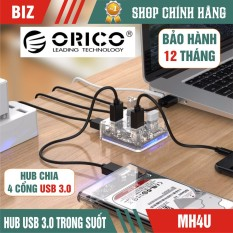Hub chia 4 cổng Usb 3.0 Orico -bh 12 tháng! chất lượng đảm bảo an toàn đến sức khỏe người sử dụng cam kết hàng đúng mô tả