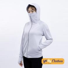 Áo chống nắng Yody nữ Cản tia UV mềm mịn thoáng mát ACN4002