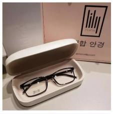 Kính giả cận thời trang siêu bền, kính Hàn Quốc thông dụng, có thể thay tròng cận được- PGH