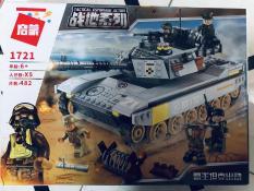 Bộ lego PUBG xe tăng chiến đấu 482 chi tiết