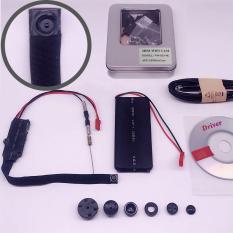 Camera Wifi Mini siêu nhỏ V99 HD4K dây dù hình cúc áo
