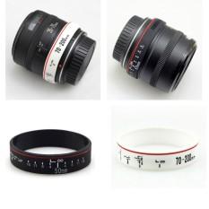 Vòng đeo tay ống kính – Lens Canon loại xịn – vòng su Canon