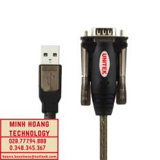 Cáp chuyển đổi USB to COM RS232 chính hãng UniTek