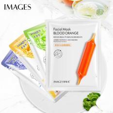 XPLUS – Combo 10 mặt nạ giấy dưỡng trắng da IMAGES mix 4 loại lô hội, việt quất, mật ong, cam đỏ mặt nạ dưỡng ẩm mặt nạ dưỡng trắng nội địa Trung XP-MA15