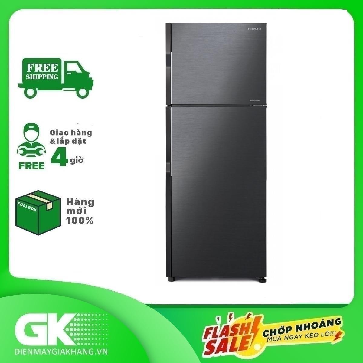 Tủ lạnh Hitachi R-H200PGV7 BBK inverter 203 lít