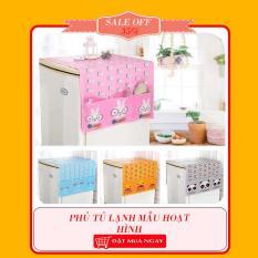 Phủ tủ lạnh mẫu hoạt hình