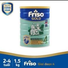 Sữa bột friso gold 4 lon 1,5 kg( Lon móp nhẹ. Date 2022)