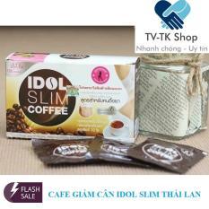 Cafe Giảm Cân Idol Slim Coffee 15g x 10 gói – Nhập Khẩu Thái Lan