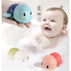 Rùa Bơi đồ chơi vặn cót biết bơi trong nước siêu dễ thương dùng cho bé chơi trong nhà tắm bể bơi mini kích thích bé cưng đi tắm an toàn cho trẻ em