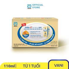 [GIẢM 40K CHO ĐƠN 499K]Thùng 48 hộp sữa nước Similac Eye-Q 4 110ml trẻ từ 1 tuổi đề kháng vượt trội phát triển trí não