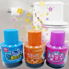 [ TOILET LUÔN SẠCH VÀ THƠM ] Chai Thả Bồn Cầu Khử Mùi Hàn Quốc 180gr, sử dụng được 2500 lần xả.