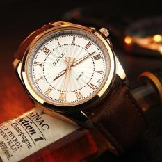 Đồng hồ nam Yazole 336 dây da thời trang cực chất