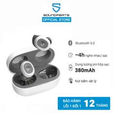 [SĂN VOUCHER 7%] Tai nghe True Wireless Bluetooth Soundpeats TrueFree 2 chống nước IPX7 thời gian nghe 4h – 2 Màu