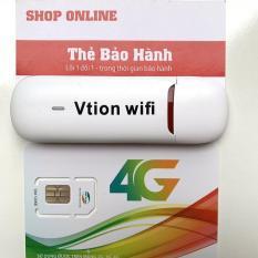 Bộ Phát Wifi Từ Sim 3G, 4G Cao Cấp-USB phát wifi đời mới nhất UFI Vtion hàng chuẩn Huawei, wifi nét căng, phủ sóng cực rộng,hàng cực bền