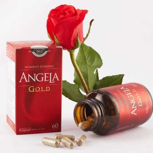 Sâm Angela Gold – Tăng cường sinh lý nữ Chai 15 VIÊN