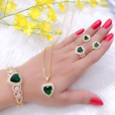 Bộ Trang Sức Xi Vàng 18K Gadoshop_VB4190603