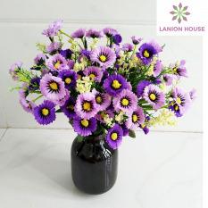 1 Cành 28 bông hoa cúc Lilac Hoa giả trang trí, hoa giả, hoa lụa, hoa giả treo trường, hoa giả để bàn, hoa lụa cao cấp, hoa lụa, hoa giả bó, hoa giả đẹp, hoa cúc giả MS 34 – Alanion House