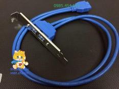 Cable chia 2 cổng USB3.0 cho PC từ chân 20pin