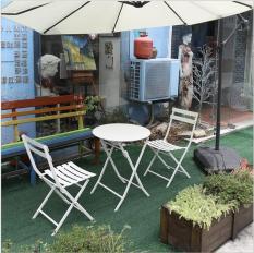 Bộ Bàn Ghế Ban Công, Bàn Cafe Trang Trí Ngoài Trời Nghệ Thuật J1401