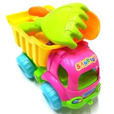Đồ chơi mô hình xe xúc cát bằng nhựa cao cấp đẹp, an toàn cho bé