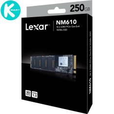 SSD Lexar NM610 M.2 PCIe Gen3 x4 NVMe 250GB LNM610-250RB – Hàng Chính Hãng