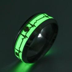 Nhẫn dạ quang phát sáng trong đêm