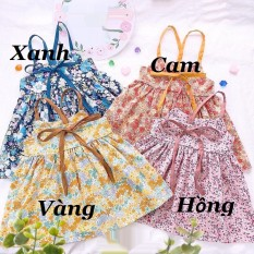 Váy bé gái – VÁY BÔNG NHÍ 2 DÂY