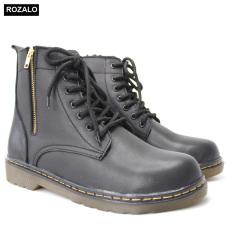 Giày boot nam da bò đế kếp Rozalo R7900