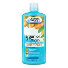 Dầu xả dưỡng tóc Natural World Argan UK 500ml