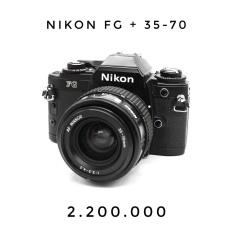 nikon fg + 35-70