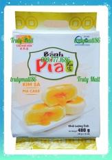 Gói 12 Cái Bánh Pía Kim Sa Mini Đậu Xanh Trứng Muối Tân Huê Viên