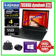 [Bảo Hành 1 Năm] Laptop Nhật Bản Toshiba Dynabook R732 Chíp i5 mạnh mẽ Laptop Gaming cũ giá rẻ Ổ SSD mới cho tốc độ xử lý nhanh trọng lượng máy nhẹ chỉ 13kg tiện dụng máy tính xách tay cũ laptop gia re