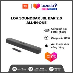[VOUCHER 200K – TRẢ GÓP 0%] Loa Soundbar JBL Bar 2.0 All-in-one l Công suất: 80W l