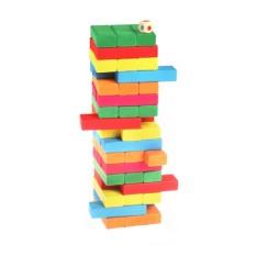 Kagonk Bộ rút gỗ 54 thanh màu size to cỡ lớn – Giúp thư giãn sau những giờ làm việc, học tập căng thẳng