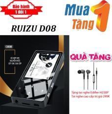 Máy nghe nhạc MP4 màn hình HD 2.4 inches Ruizu D08 + Tặng Tai nghe Edifier H230P cao cấp – Máy nghe nhạc Lossless chất lượng cao – máy nghe nhạc giá rẻ