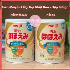 (Date 2022) Sữa Meiji Số 0 Nội Địa Nhật Bản Mẫu Mới – Hộp 800Gr
