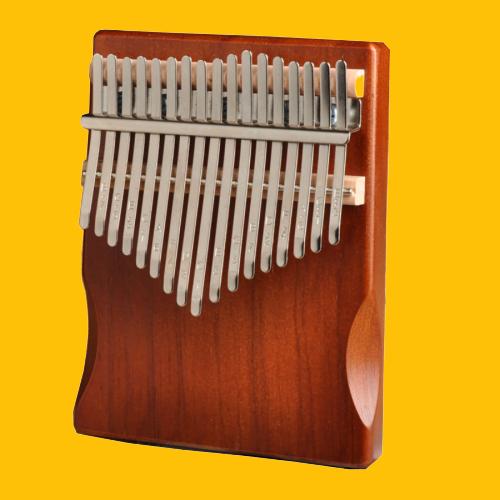 Kalimba 17 phím gỗ Mahagony JKLIM9989 -Gỗ nguyên khối âm vang cực hay cam kết không tịt phím