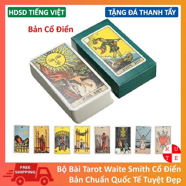 Bài Tarot Tiếng Việt Cho Người Mới Tarot Waite Smith Bản Đẹp