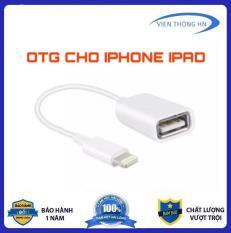 [Nhập ELJAN12 giảm 10%, tối đa 200k, đơn từ 99k]Đầu chuyển Jack chuyển adapter OTG CHO IPHONE IPAD ios 13 trở lên – Cáp OTG cho iphone ipad cổng Lightning – OTG lightning