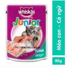 Thức Ăn Cho Mèo – Pate Cho Mèo Whiskas (Vị Ngẫu Nhiên)