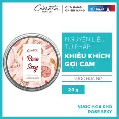 Nước hoa khô Cenota Rose Sexy 20g